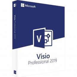 Microsoft Visio 2019 Professional - 1 utilisateur / 1 licence - Microsoft