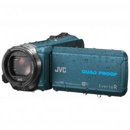 JVC GZ-RX645 Bleu + Carte SDHC 16 Go voomstore ci