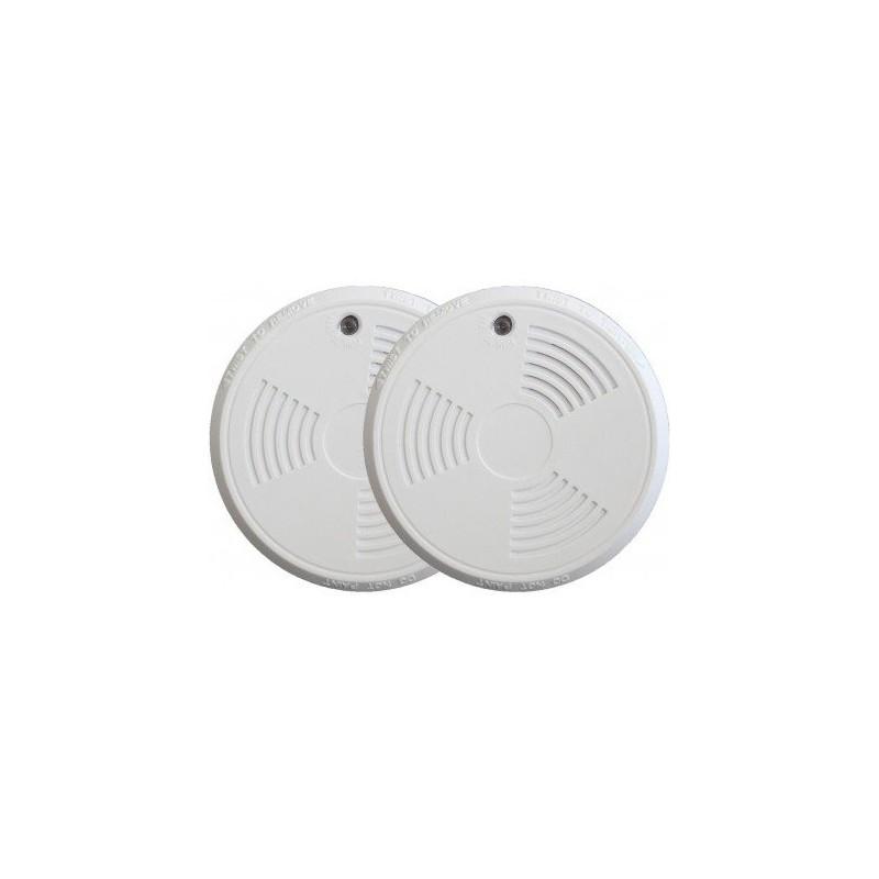 Pack de 2 détecteurs de fumée