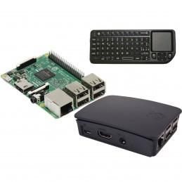 Raspberry Pi 3 Multimedia Kit (noir) VOOMSTORE.CI