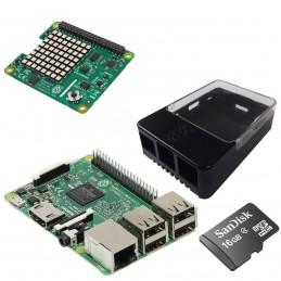 Raspberry Pi 3 Sense Hat Kit  VOOMSTORE.CI
