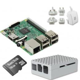 Raspberry Pi 3 Starter Kit (blanc) VOOMSTORE.CI