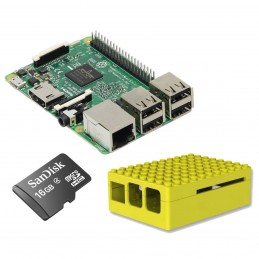 Raspberry Pi 3 Starter Kit (jaune) VOOMSTORE.CI