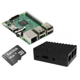 Raspberry Pi 3 Starter Kit (noir) VOOMSTORE.CI
