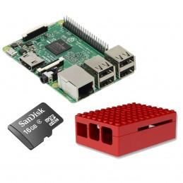 Raspberry Pi 3 Starter Kit (rouge) VOOMSTORE.CI