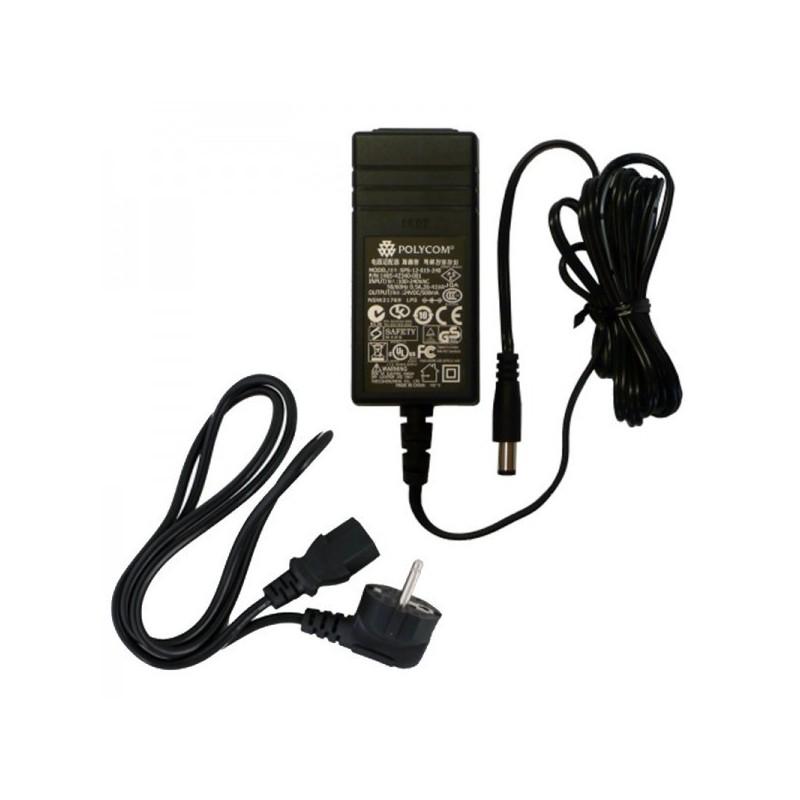 Polycom - Bloc Secteur pour SoundPoint IP321/331/335/450/550/650